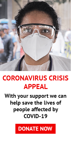 Please donate to our COVID-19 Crisis Appeal