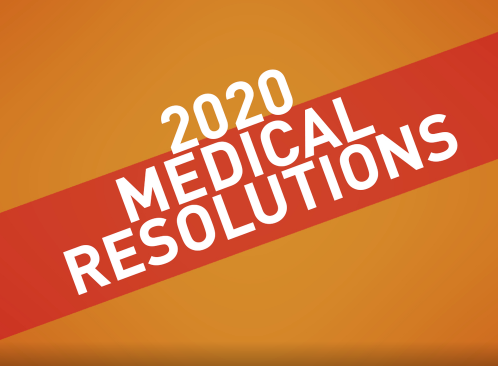 2020 Medical Resolutions