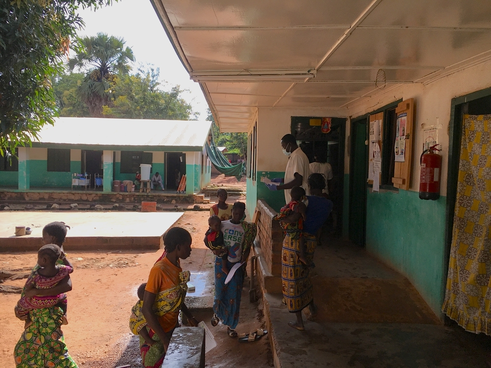 Pediatric ward at Batangafo hospital