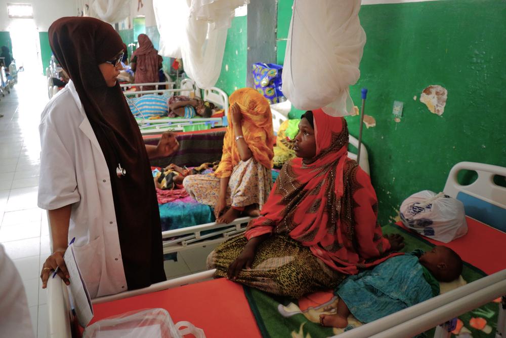 MSF in Galkayo, Somalia