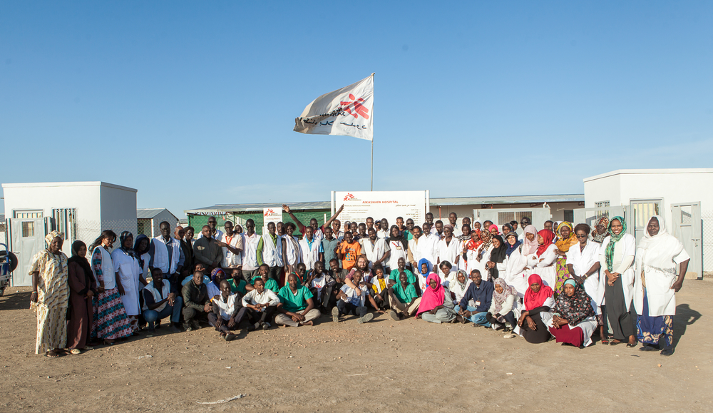 Al Kashafa Hospital 2020 [Photo: MSF/Musab Sahnon]