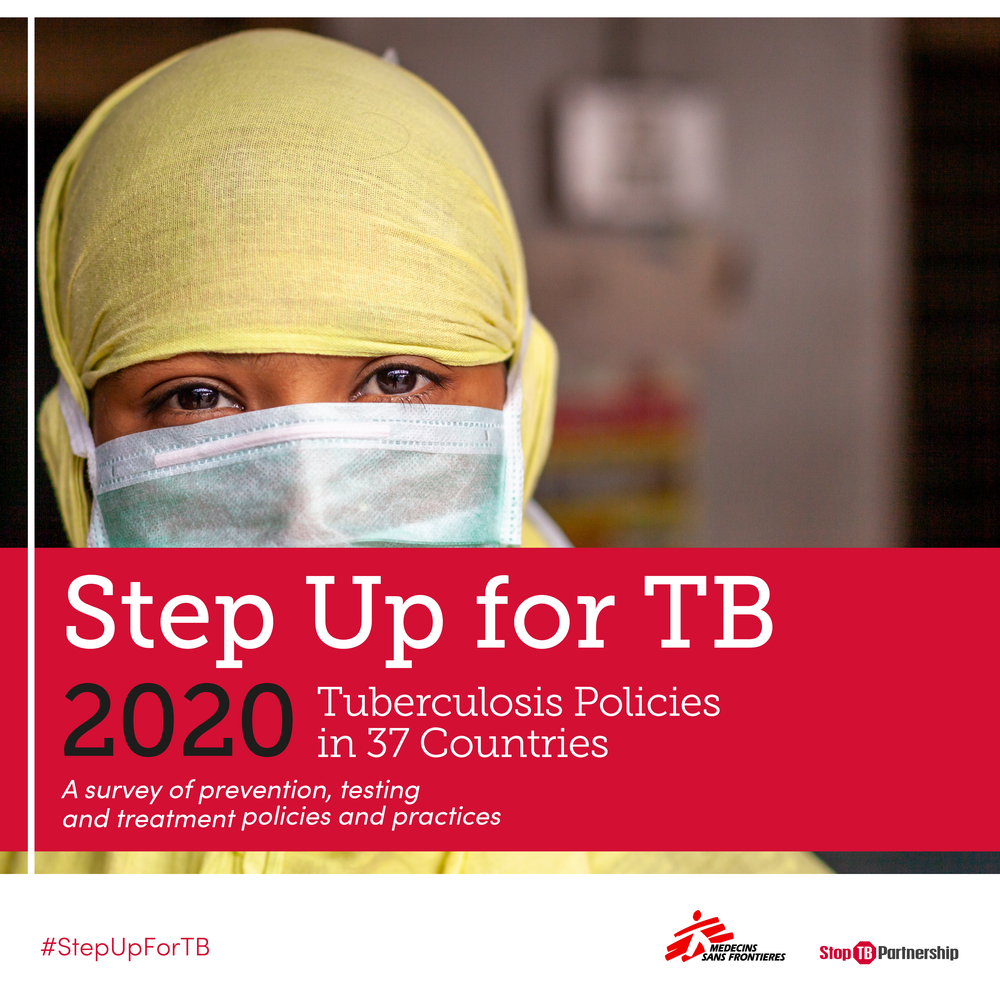 Step up for TB report cover