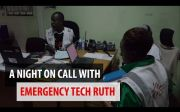 Embedded thumbnail for Kenya: A night on call with Emergency Technican Ruth
