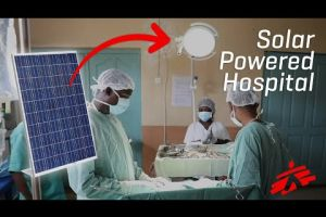 Embedded thumbnail for Solar Panels Help Save Lives in DRC