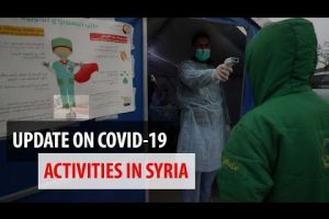 Embedded thumbnail for COVID-19 Prevention measures in Idlib, Syria