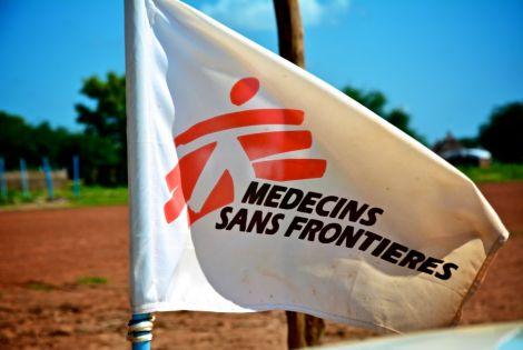MSF Flag ©Valérie Batselaere/MSF