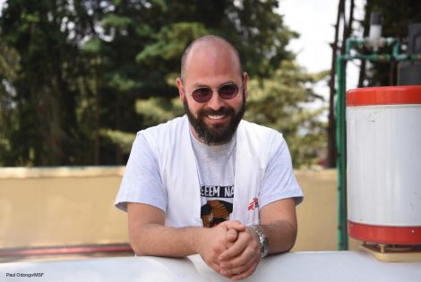Ibrahim El Lahham is the Logistics Manager for MSF in Embu and Kiambu projects