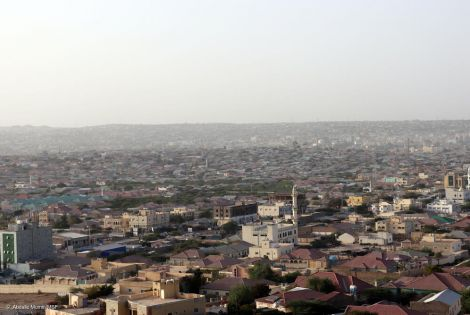 Hargeisa, Somaliland, hosts approximately 100,000 people displaced by conflicts and droughts in the