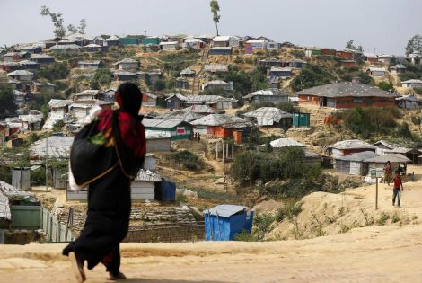 A woman carrying food for her family, Cox Bazar, Bangladesh [© Vincenzo Livieri]
