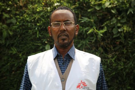 Mohamed Kalil is MSF's humanitarian affairs advisor [Photo: Abdalle Mumin/MSF]