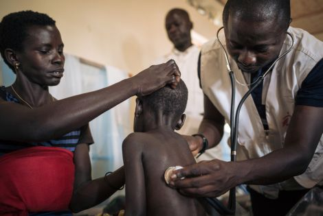 Measles Unit in Biringi Hospital, Ituri Province[Photo: Alexis Huguet]
