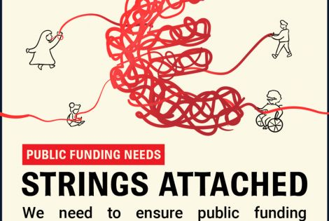 IMAGE- Public funding needs strings attached